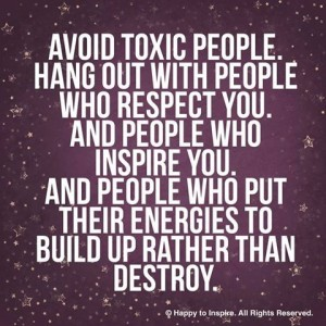 avoid toxic people
