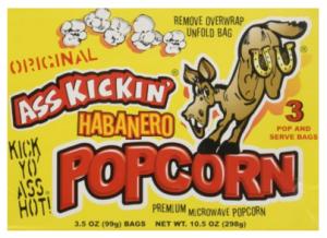 Ass Kickin Popcorn
