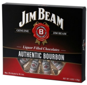 Jim Beam Bourbon Filled Chocolates
