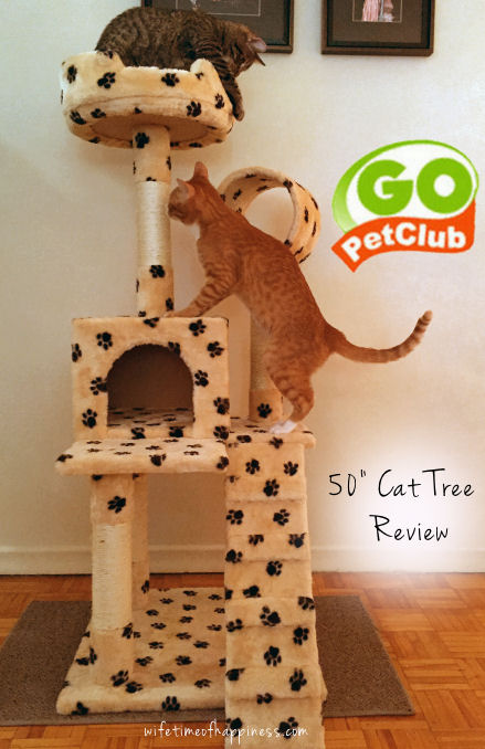 Go Pet Club Cat Tree Review