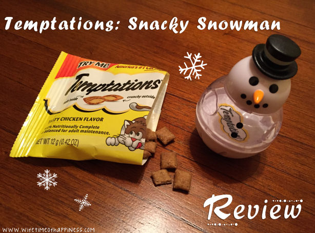 Temptations Snacky Snowman Cat Toy