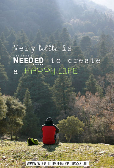 very little is needed quote