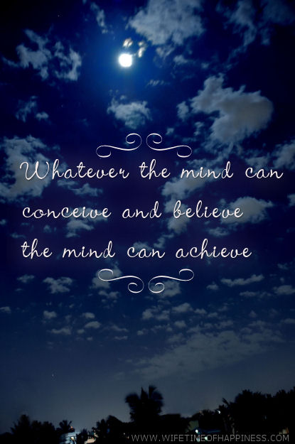 whatever the mind can conceive quote