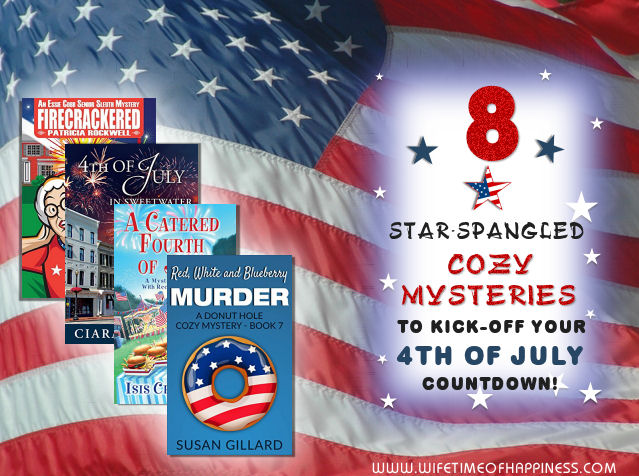 4th of July cozy mysteries