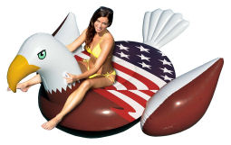 Patriotic Pool Float