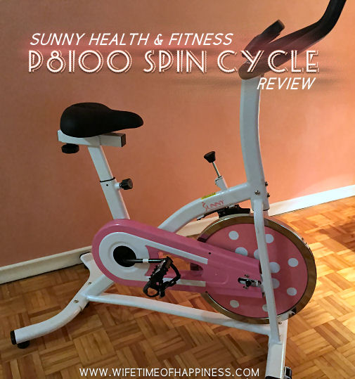 sunny health and fitness p8100 spin cycle