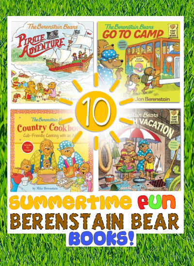 summertime berenstain bear books