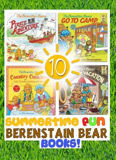 summertime berenstain bear books