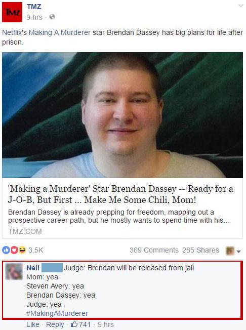 aking a Murderer Brendan Dassey