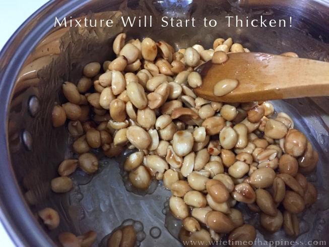 candied peanuts recipe