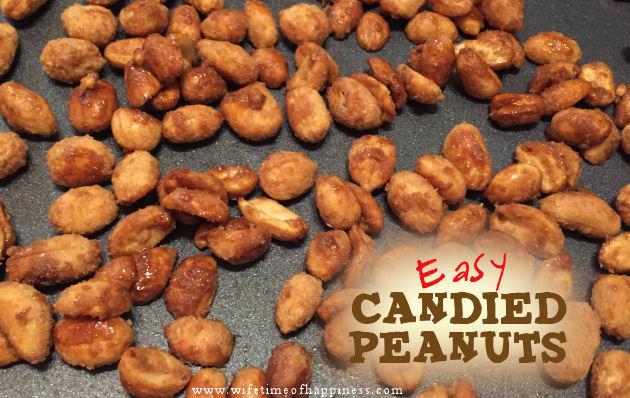 how to make candied peanuts