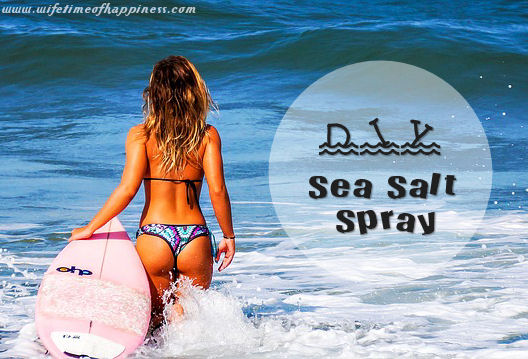 how to make sea salt spray