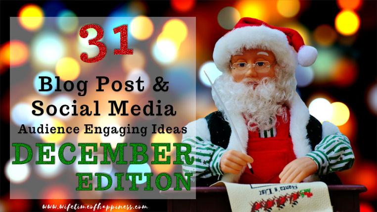 december blog post ideas 2017