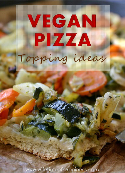 vegan pizza topping ideas