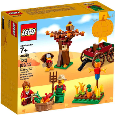 lego thanksgiving theme set