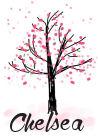 Chelsea Springtime Tree Signature