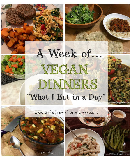 what I eat in a day vegan dinner round two