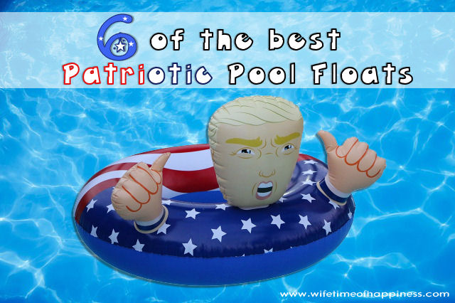 Patriotic Pool Floats 4th of July