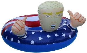 donald trump pool float president trump pool float