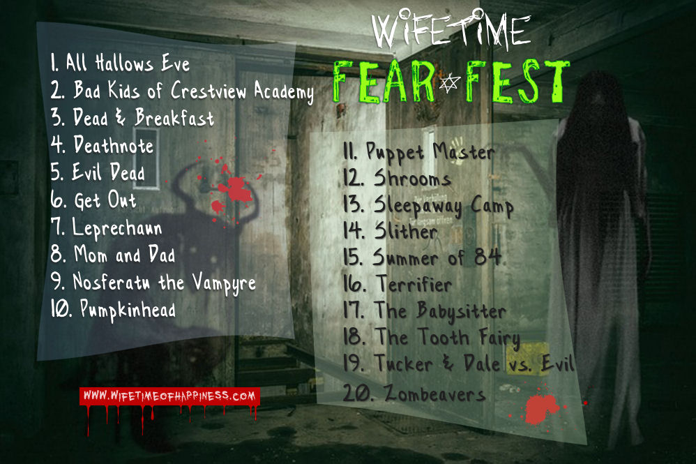 fear fest playlist 2018