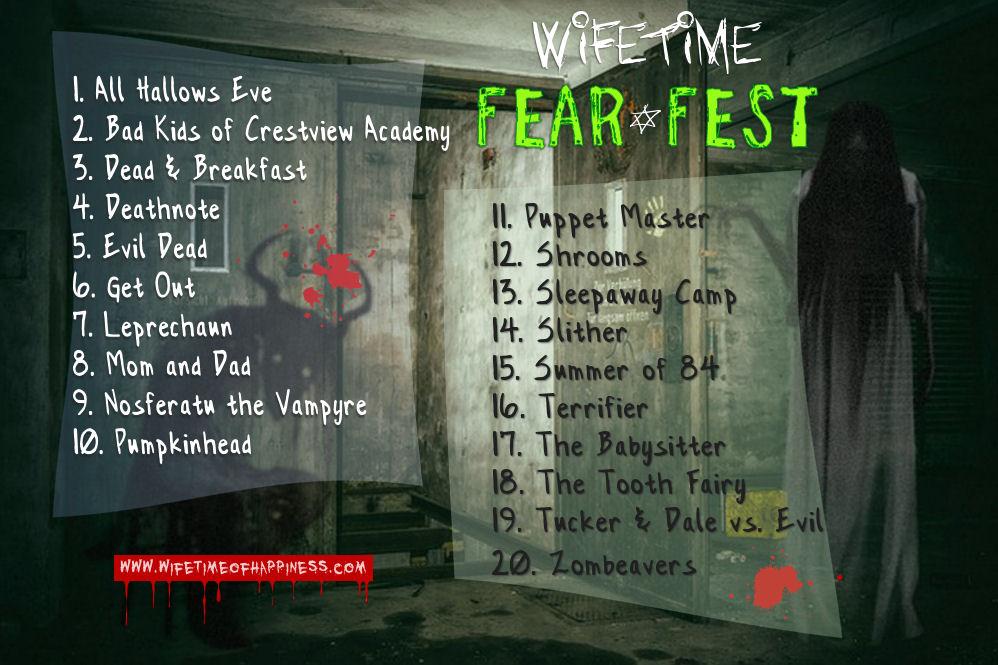 fear fest playlist 2018