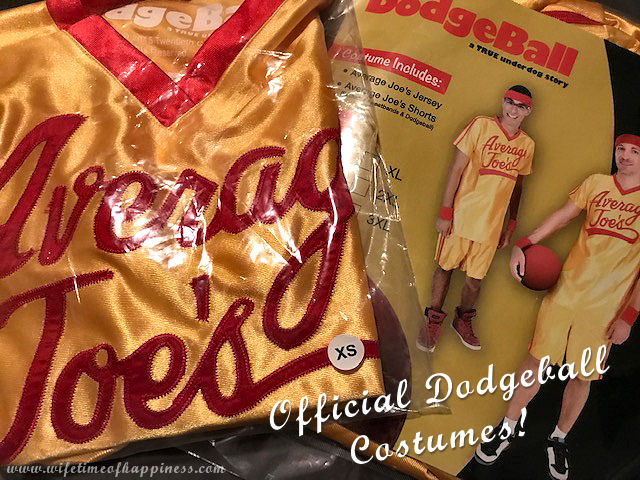 official dodgeball costumes