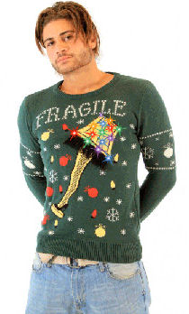 leg lamp christmas story sweater