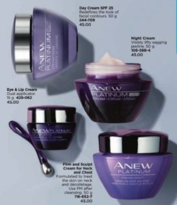 Anew Platinum Avon Canada