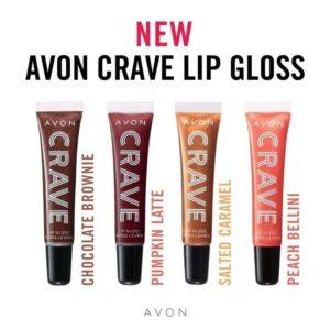 Avon Crave Lip Glosses 1