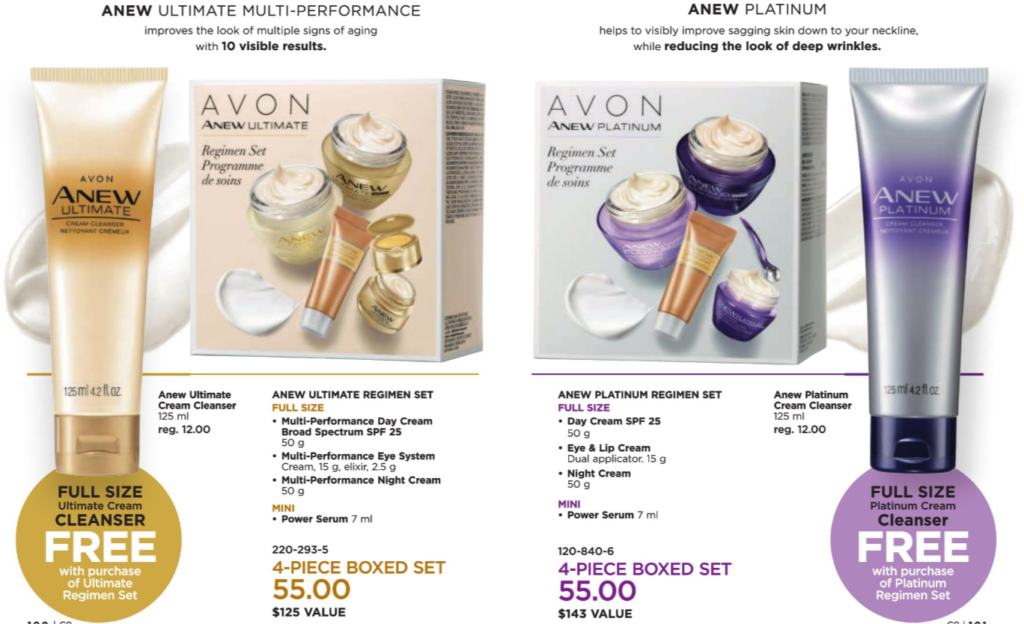 Avon Anew Regimen Bundle