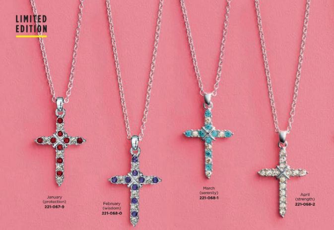 Avon Canada Cross Necklace
